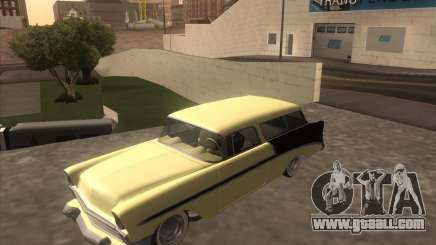 Chevrolet Bel Air Nomad 1956 custom for GTA San Andreas
