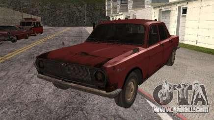 Volga Gaz M24-Rusty Death for GTA San Andreas