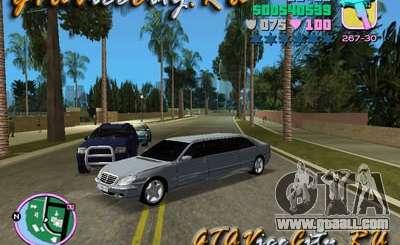 Mercedes-Benz S600L for GTA Vice City
