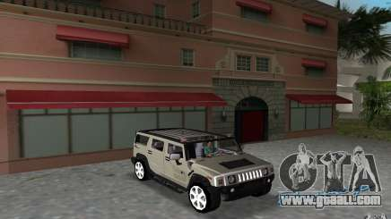AMG H2 HUMMER for GTA Vice City