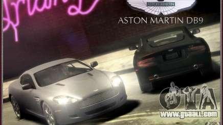 Aston Martin DB9 for GTA 4