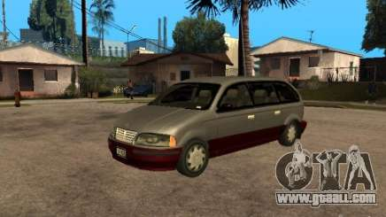 HD Blista for GTA San Andreas