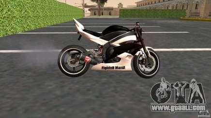 Yamaha YZF-R6 Street Fighter for GTA San Andreas