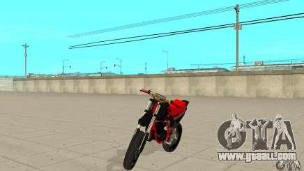 DT 180 Motard for GTA San Andreas