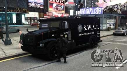 SWAT - NYPD Enforcer V1.1 for GTA 4