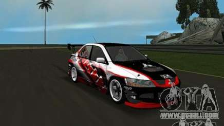 Mitsubishi Lancer Evo VIII for GTA Vice City
