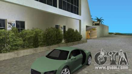Audi R8 4.2 Fsi for GTA Vice City