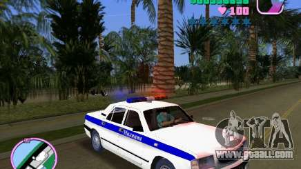 Volga Gaz 3110 Police for GTA Vice City