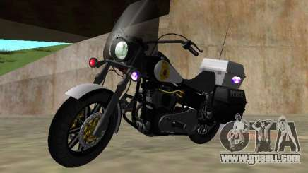 Harley Davidson Dyna Defender for GTA San Andreas