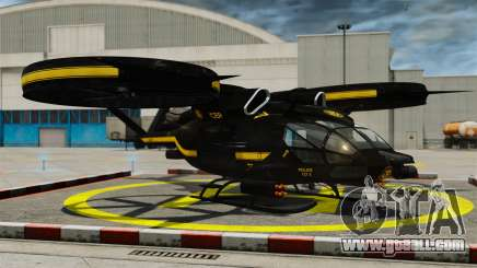 Transport helicopter SA-2 Samson for GTA 4