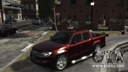 Volkswagen Amarok TDI 2011 for GTA 4