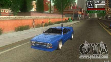 Lancia 037 Stradale for GTA San Andreas