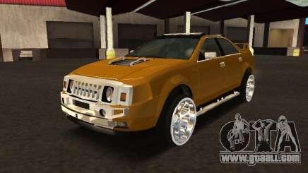 Hummer H0 for GTA San Andreas
