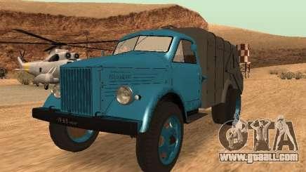 GAZ 51 garbage truck for GTA San Andreas