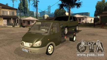 GAZ 3302 v 1.2 (Gazelle tow truck) for GTA San Andreas