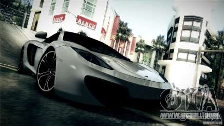 McLaren MP4-12C 2012 for GTA San Andreas