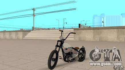 HD Shovelhead Chopper v2.1-matte for GTA San Andreas