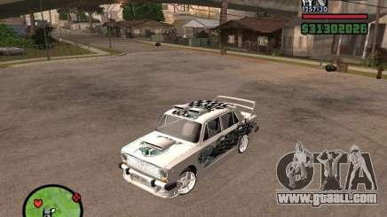 Vaz 2101 car tuning for GTA San Andreas
