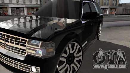 Lincoln Navigator for GTA San Andreas