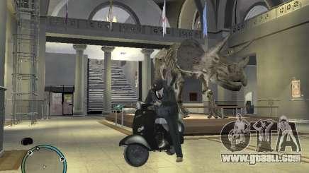 Vyatka motor scooter for GTA 4