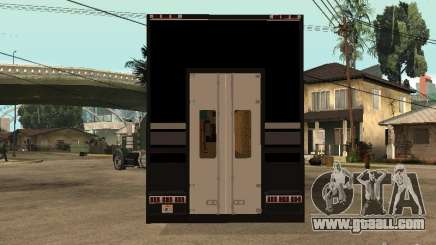 Custom Kenworth w900 - Custom - Trailer for GTA San Andreas
