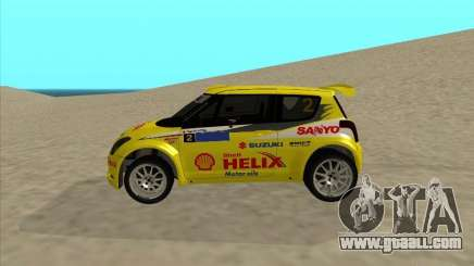 Suzuki Rally Car for GTA San Andreas