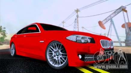 BMW 550i 2012 for GTA San Andreas