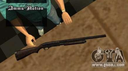 Remington 870 Action Express for GTA San Andreas