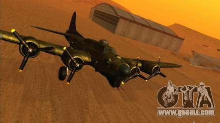 B-17 g Flying Fortress (Nightfighter version) for GTA San Andreas