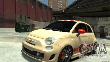 Fiat 500 Abarth Esseesse V1.0 for GTA 4