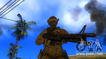 The M60E4 Machine Gun for GTA San Andreas