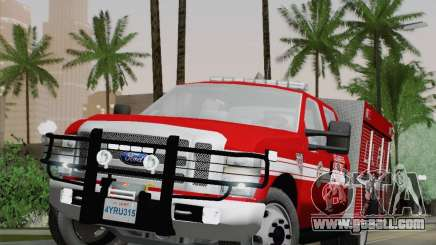 Ford F-350 Super Duty LAFD for GTA San Andreas