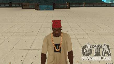 Maryshuana red bandana for GTA San Andreas