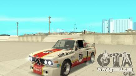BMW 3.0 CSL Schnitzer 1975 Batmobile for GTA San Andreas