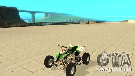 Yamaha YFZ 450 SuperCross Skin 4 for GTA San Andreas