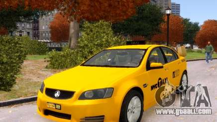 Holden NYC Taxi V.3.0 for GTA 4