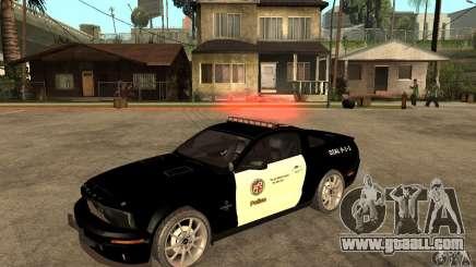 Shelby GT500KR Edition POLICE for GTA San Andreas