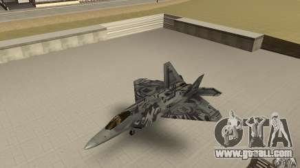 F-22 Starscream for GTA San Andreas
