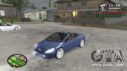 Peugeot 307 BMS Edition for GTA San Andreas