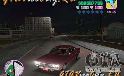 Ford AMC Matador maroon for GTA Vice City