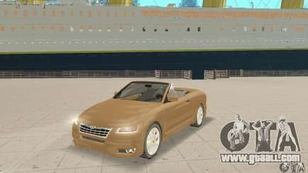 Chrysler Cabrio silver for GTA San Andreas
