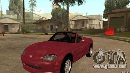 Mazda MX5 - Stock for GTA San Andreas