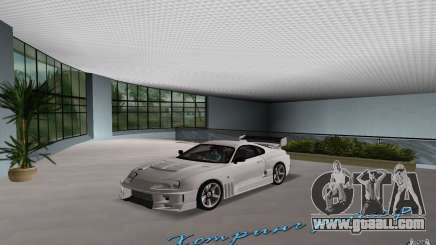 Toyota Supra Chargespeed for GTA Vice City