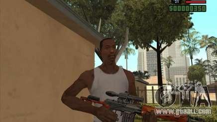 SVD for GTA San Andreas
