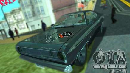 Plymouth Duster 340 1971 for GTA San Andreas