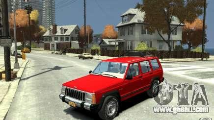 Jeep Cherokee 1984 for GTA 4