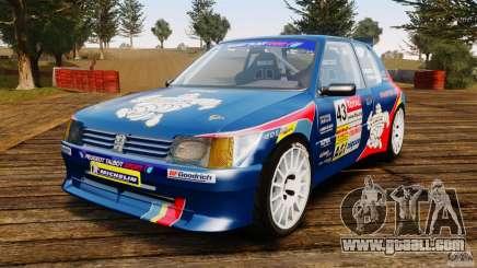 Peugeot 205 Maxi for GTA 4