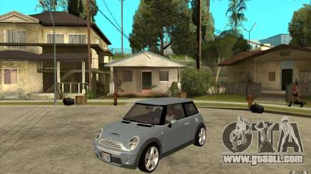 Mini Cooper - Stock for GTA San Andreas