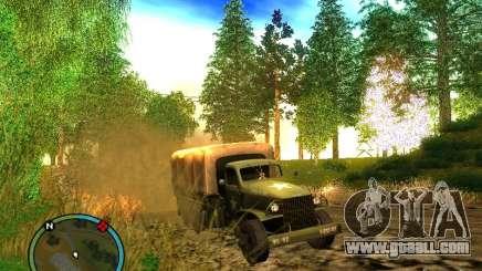 Millitary Truck from Mafia II for GTA San Andreas