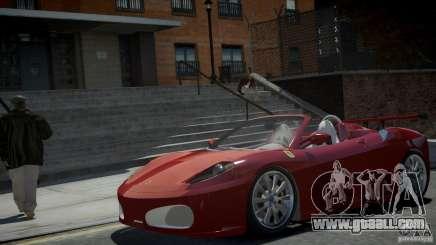 Ferrari F430 Spider for GTA 4